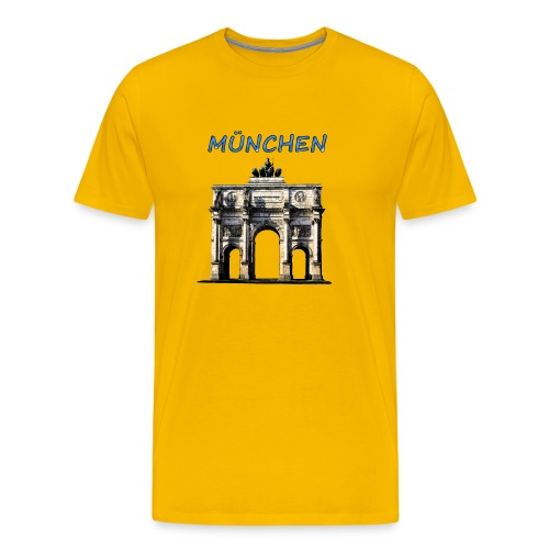 Münchnen Siegestor - Männer Premium T-Shirt