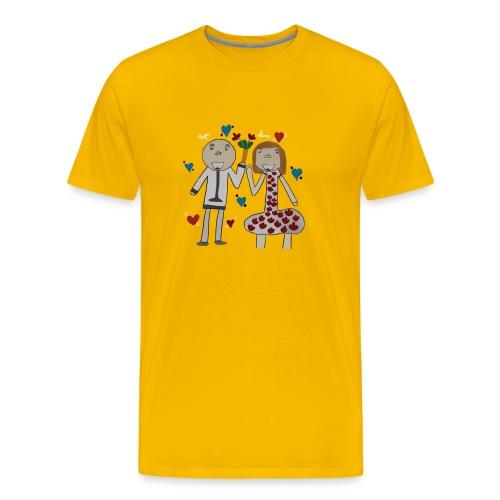 Hommage an alle Eltern - Männer Premium T-Shirt