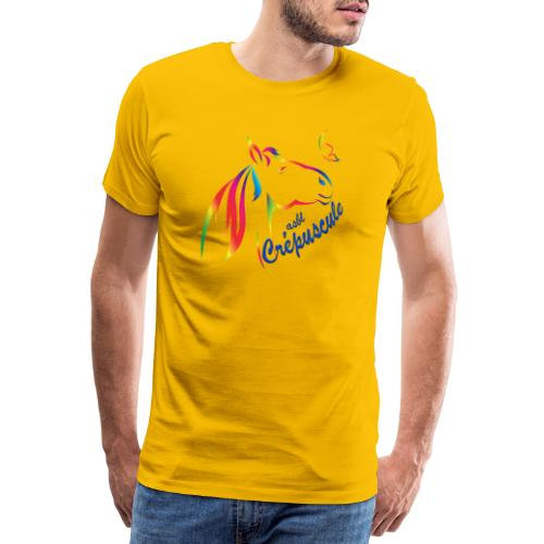 Logo de l'asbl Crépuscule - T-shirt Premium Homme