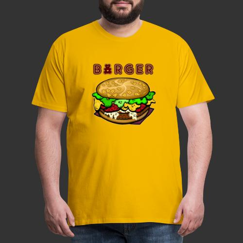 Burger Bear meets Bärenlust - Männer Premium T-Shirt