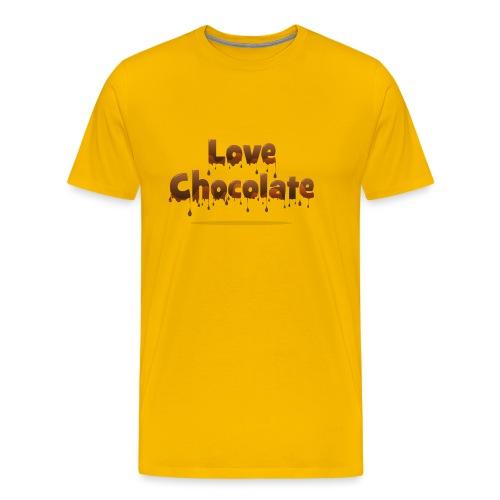 Love Chocolate - Men's Premium T-Shirt