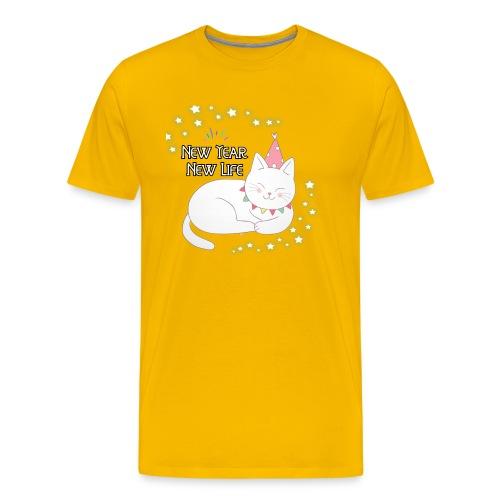 New Year New Life - Camiseta premium hombre