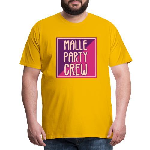 Malle Mallorca Party Crew Sommer Urlaub Spaß - Männer Premium T-Shirt