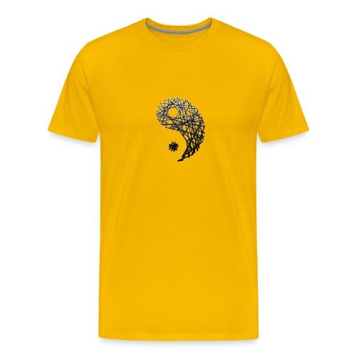 yin yan z z - Camiseta premium hombre