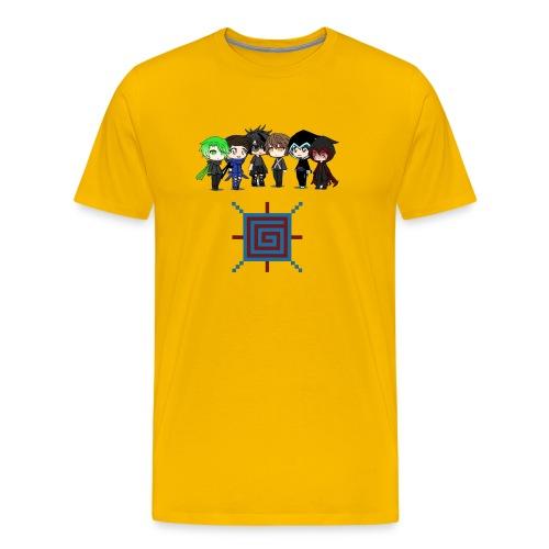 SonneCraft - Maglietta Premium da uomo