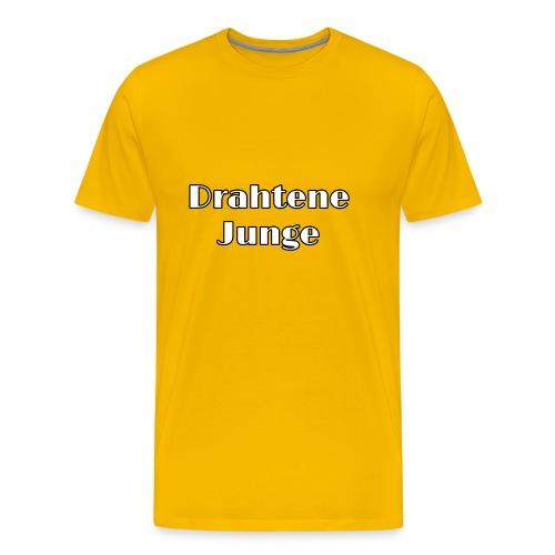 Drahtene Junge - Männer Premium T-Shirt