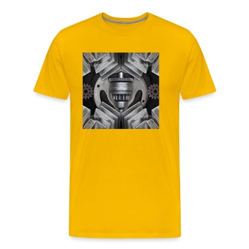 metalen motor onderdelen - Mannen Premium T-shirt