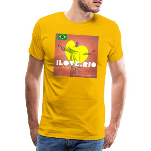 I LOVE RIO RADIO - Men's Premium T-Shirt