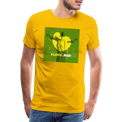 ILOVE.RIO MATA ATLANTICA - Men's Premium T-Shirt