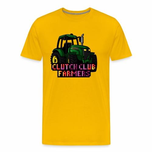 Clutch Club Farmers - Premium-T-shirt herr