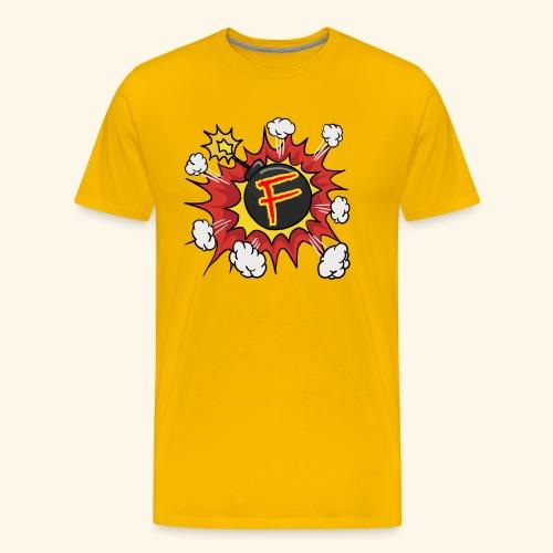 JustKally F Grenade - Men's Premium T-Shirt