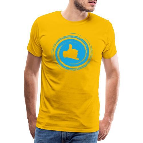 Le shaka, symbole lié à Hawaï ou Tahiti - T-shirt Premium Homme