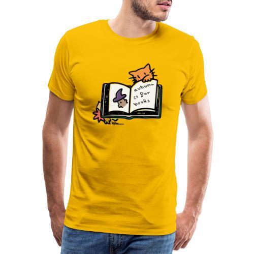 L'automne, c'est pour les livres ! - T-shirt Premium Homme