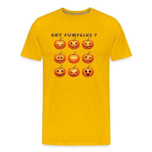 GOT PUMPKINS DESIGN - Men's Premium T-Shirt