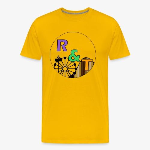 *Limited Edition* Robin & Thomas Merch Zwart - Mannen Premium T-shirt