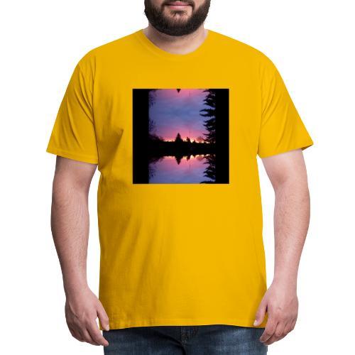 Gott ist Gut - Morgenrot - Männer Premium T-Shirt