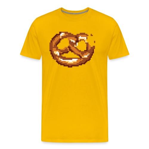 Breze mit Biss - Männer Premium T-Shirt