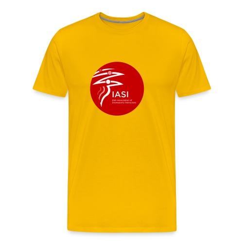 iasi red c60000 - Men's Premium T-Shirt