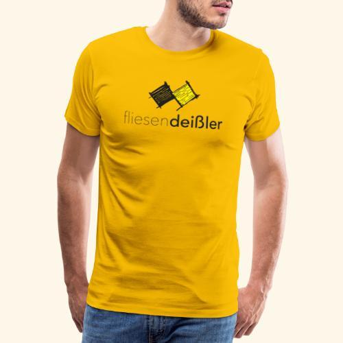 fliesendeißler-2018-safe - Männer Premium T-Shirt