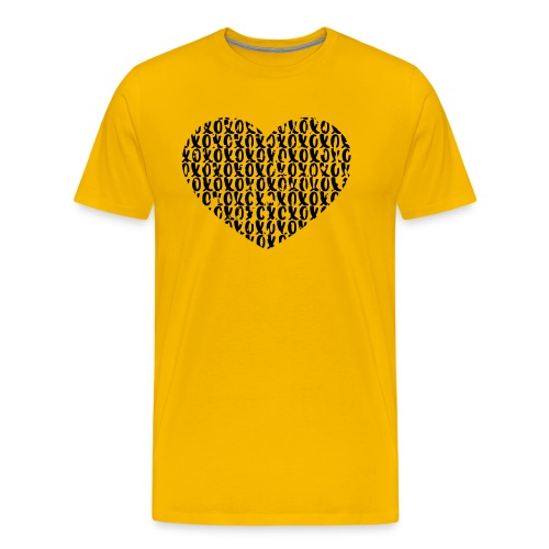 heart - love - Mannen Premium T-shirt