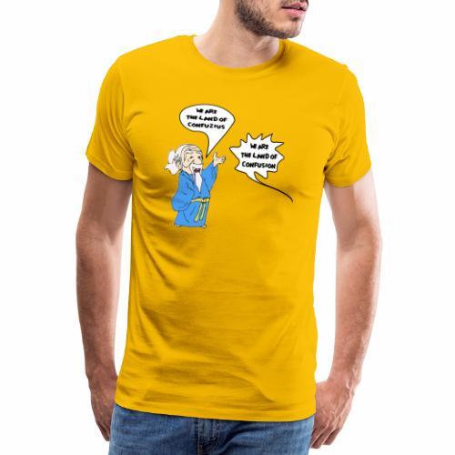 konfuss - Männer Premium T-Shirt
