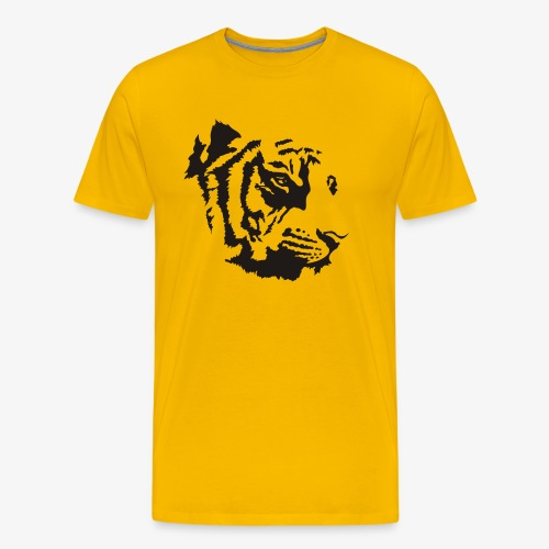 Tiger head - T-shirt Premium Homme