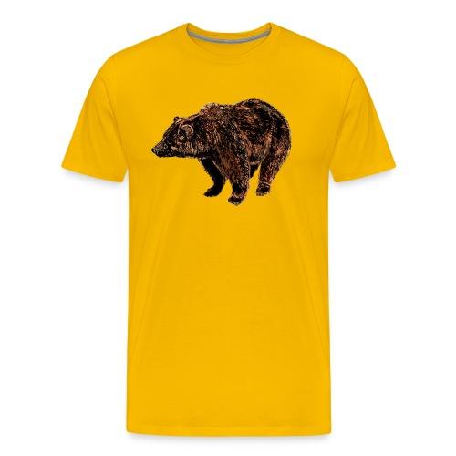 orso - Maglietta Premium da uomo