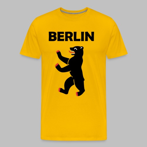 BERLIN - Berliner Bär (Vektor) - Männer Premium T-Shirt