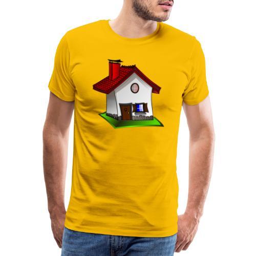 Haus - Männer Premium T-Shirt