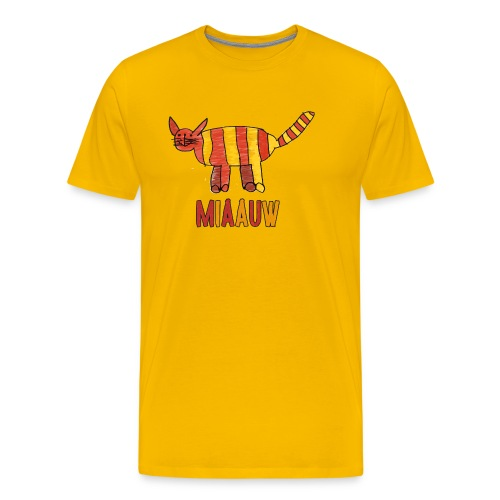 miaauw poesje - Mannen Premium T-shirt