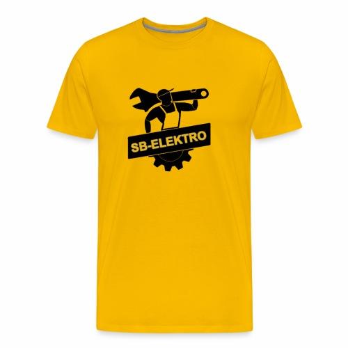 SB transp 1000 png - Herre premium T-shirt