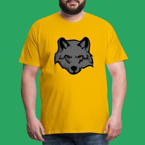 wolf logo - Maglietta Premium da uomo