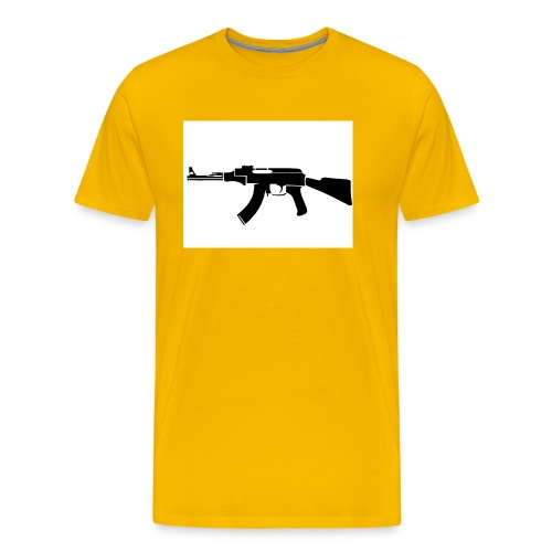 ak47 - Premium-T-shirt herr