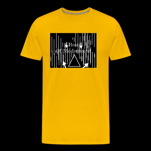 Bestofmodernmen - Maglietta Premium da uomo