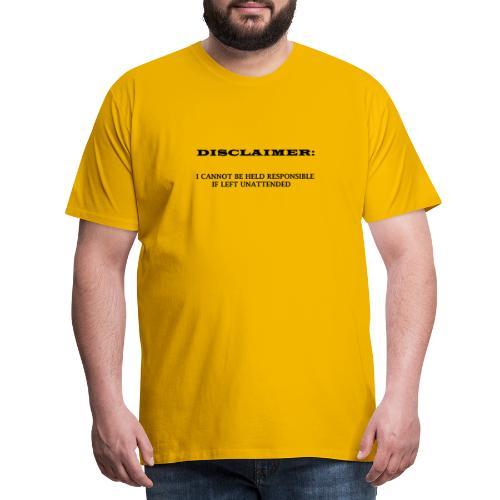 DISCLAIMER - Men's Premium T-Shirt