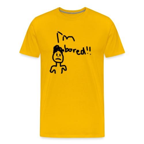 Im Bored Merch - Men's Premium T-Shirt