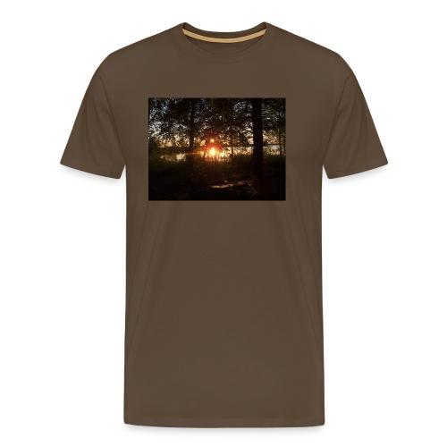 Ilta Koitereella - Miesten premium t-paita
