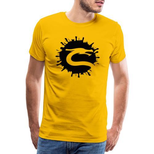 Dragemester_Sort - Herre premium T-shirt