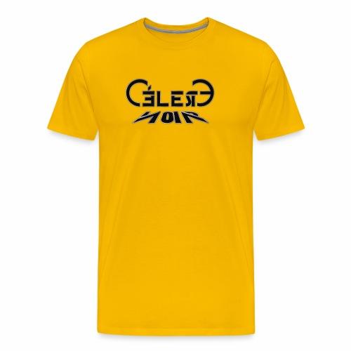 celeste noir - Männer Premium T-Shirt