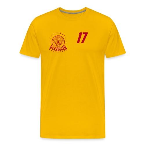 Nummer Logo rot - Männer Premium T-Shirt