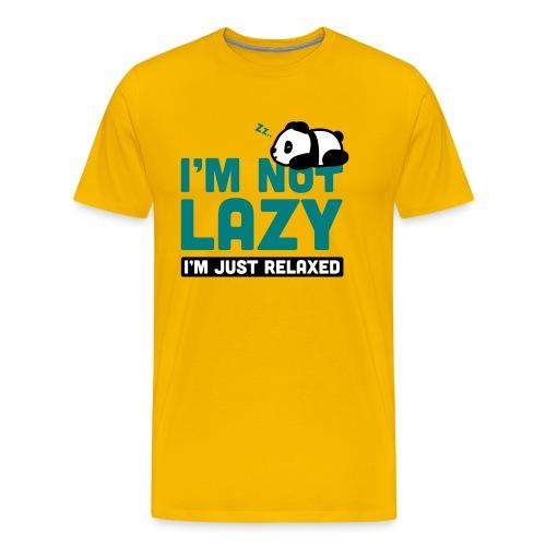 Relaxing Panda - Männer Premium T-Shirt