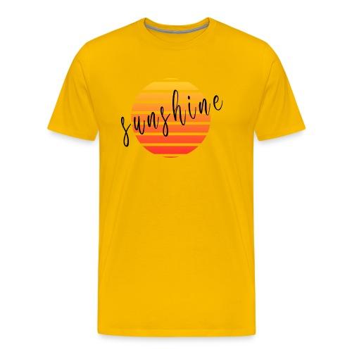 Sunshine - T-shirt Premium Homme
