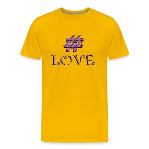 hashtag love - T-shirt Premium Homme