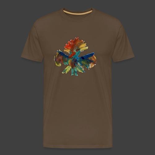 Mayas bird - Men's Premium T-Shirt