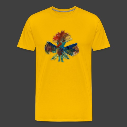 Mayas bird - Premium-T-shirt herr