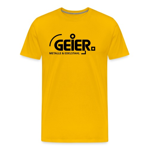 Sponsor Geier Metalle - Männer Premium T-Shirt