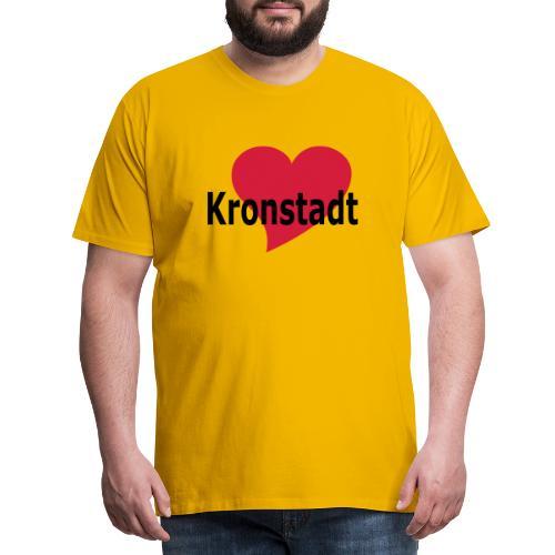 Herz Kronstadt - Brasov - Brasso - Burzenland - - Männer Premium T-Shirt