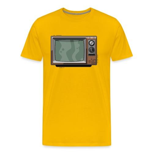 Televisie old school - Mannen Premium T-shirt