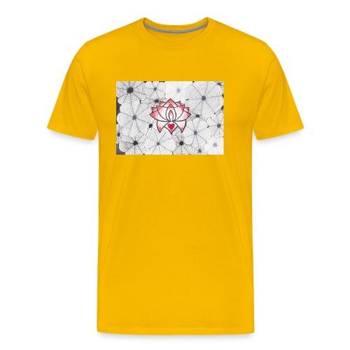 Lotus Heart - Maglietta Premium da uomo