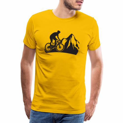 Mountainbike - Bergliebe - Männer Premium T-Shirt